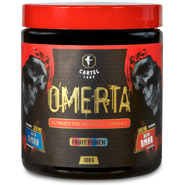 Cartel Labz - OMERTA DMAA + DMHA Pre-Workout Booster