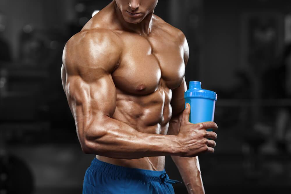 Günstiges Proteinpulver zum Muskelaufbau