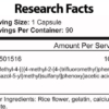 Lawless Labs ENDURABOL Inhaltsstoffe Facts