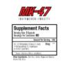 Muscle Rage MK-47 Ibutamoren Inhaltsstoffe Facts