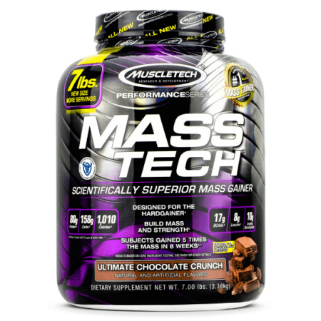 MuscleTech Mass Tech 3,18kg Weight Gainer