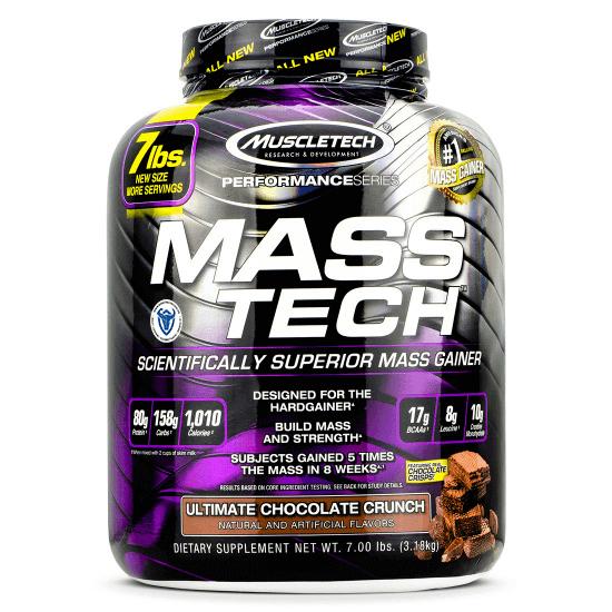 MuscleTech Mass Tech 3,18kg Weight Gainer
