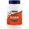 NOW Foods Gaba 500 mg 200 Veg Caps
