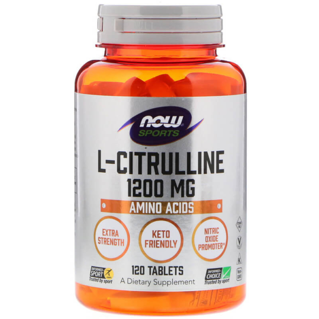 NOW Foods L-Citrulline 1200 mg 120 Tabs
