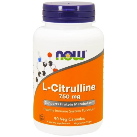 NOW Foods L-Citrulline 750 mg 90 Caps