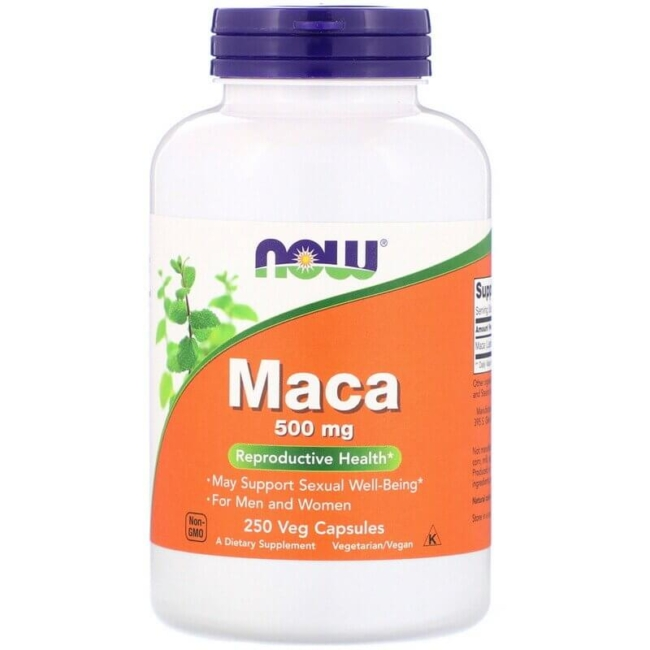 NOW Foods Maca 500 mg