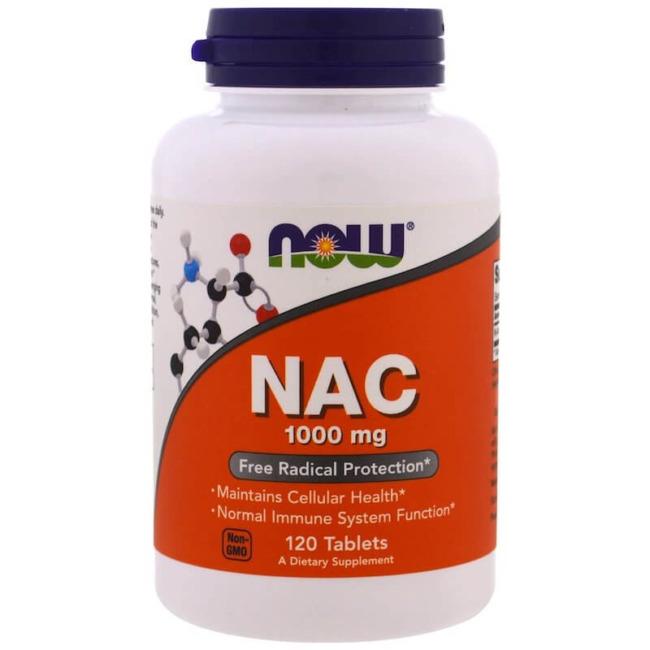 NOW Foods NAC 1000 mg