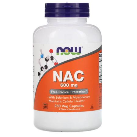 NOW Foods NAC 600 mg 250 Veg Caps