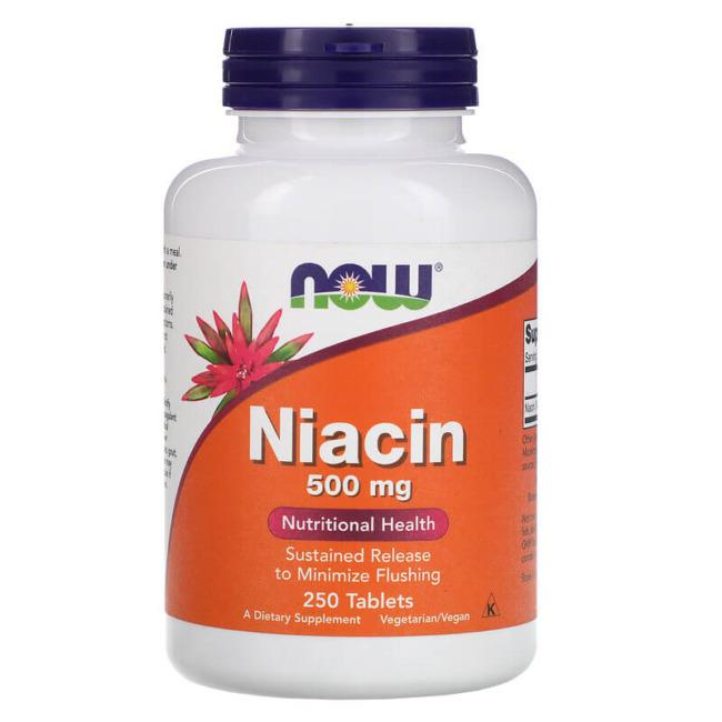 NOW Foods Niacin 500 mg