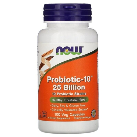 NOW Foods Probiotic-10 25 Billion 100 Kapseln