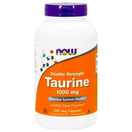 NOW Foods Taurine 1000 mg 250 Kapseln