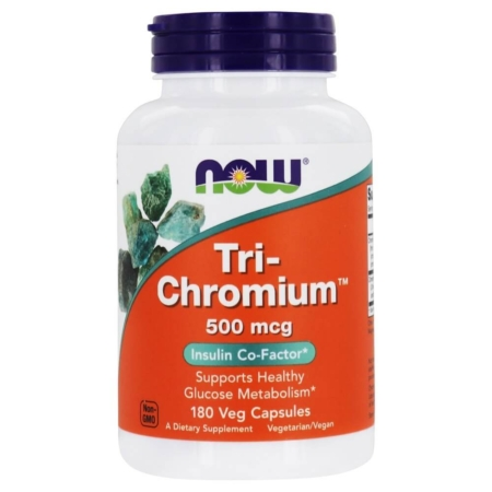 NOW Foods Tri-Chromium™ 500 mcg