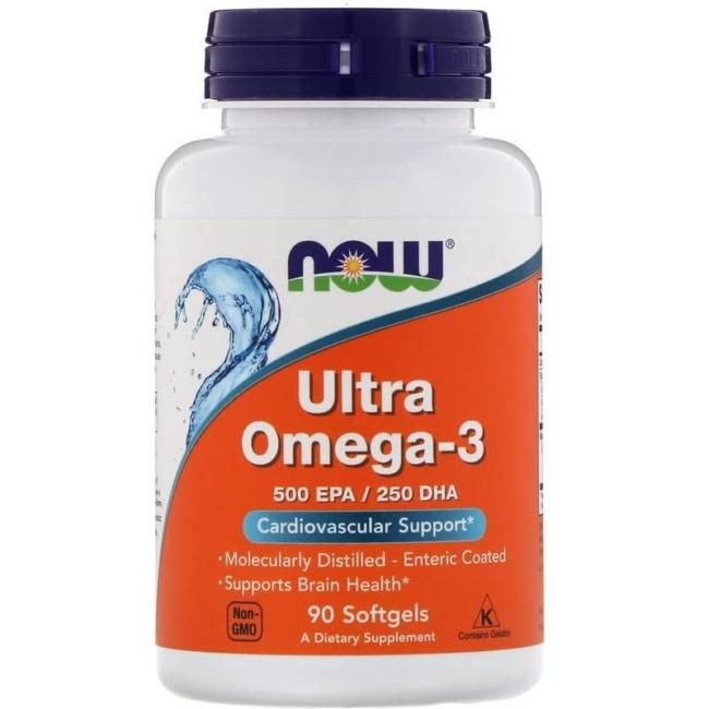 NOW Foods Ultra Omega 3 90 Softgels