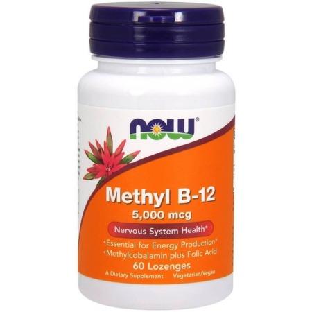 NOW Foods Vitamin B-12 5000 mcg
