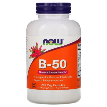 NOW Foods Vitamin B-50 250 Caps