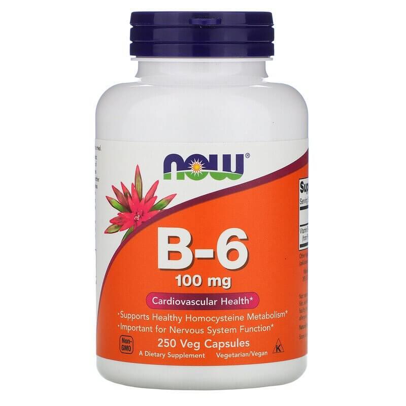 NOW Foods Vitamin B-6 100 mg