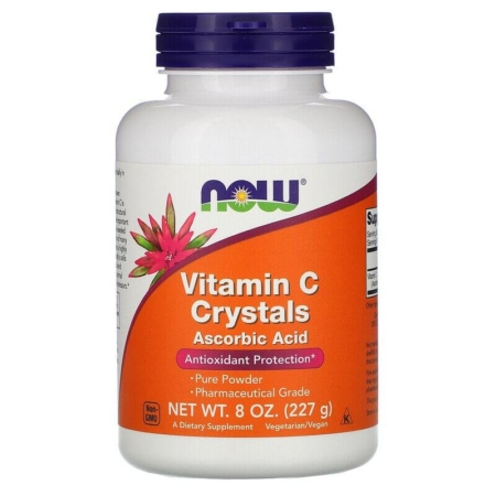 NOW Foods Vitamin C Crystals 227 g