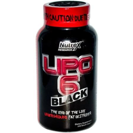 NUTREX Lipo-6 Black 240 Kapseln