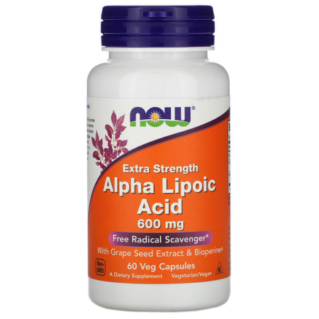 Now Foods Alpha Lipoic Acid 600mg