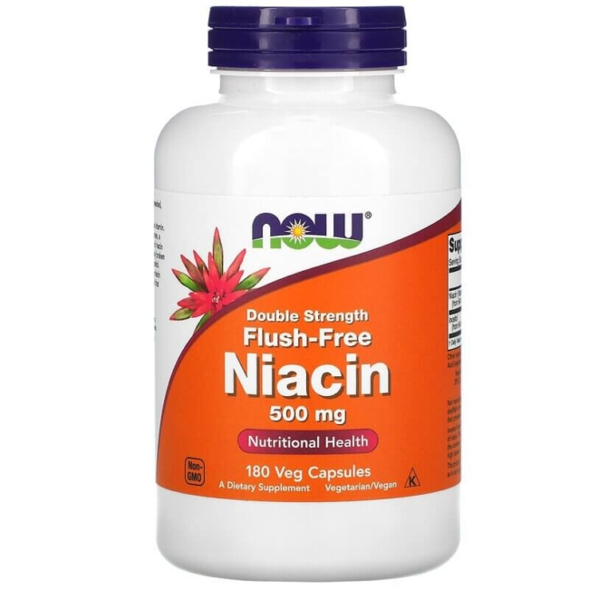 Now Foods Flush-Free Niacin 500 mg