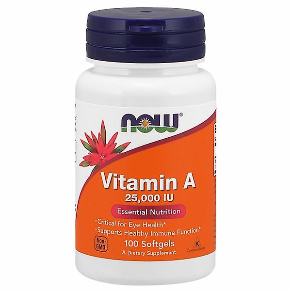 Now Foods Vitamin A 25000 IU