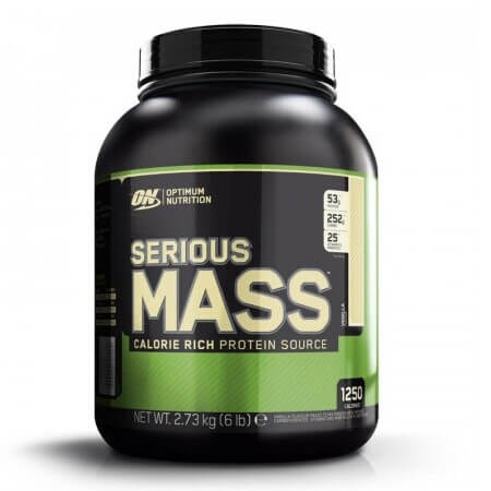 ON Serious Mass 2,73 kg Weight Gainer