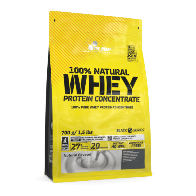 Olimp Nutrition 100% Natural Whey Protein Concentrate 700g