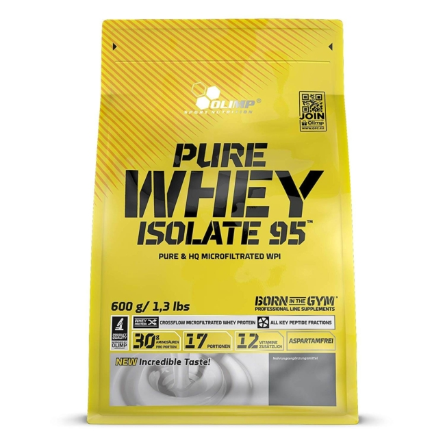 Olimp Nutrition Pure Whey Isolate 95 600g