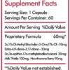 Orb Pharmaceuticals Triple X Inhaltsstoffe