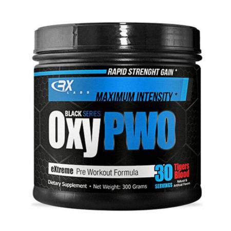 RX Labs Oxy PWO Black Series DMAA Pre-Workout Booster