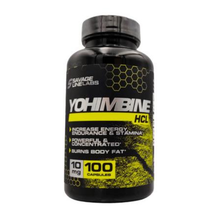 Savage Line Labs Yohimbine HCL 10mg