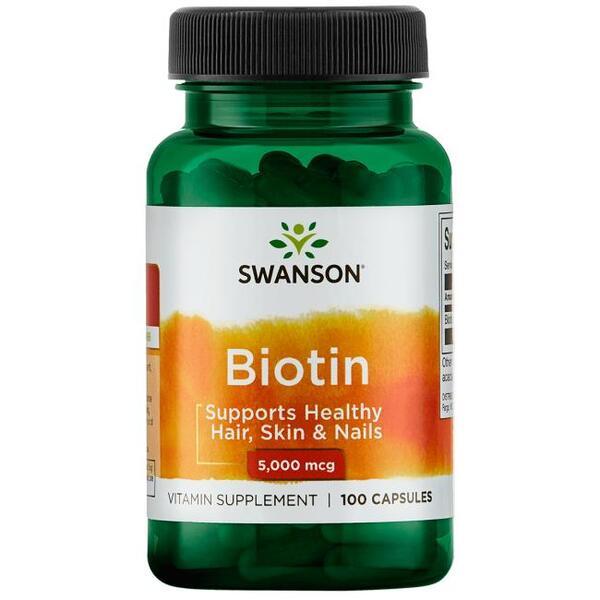 Swanson Biotin 5000 mcg