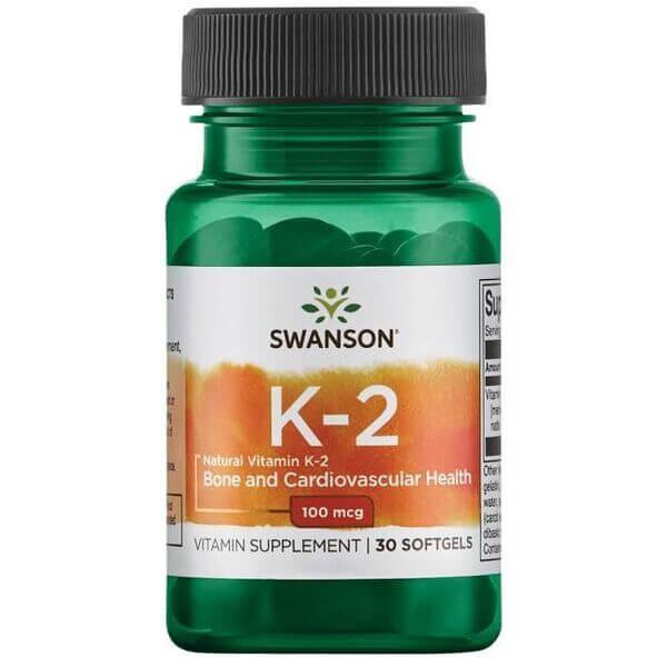 Swanson K-2 100 mcg