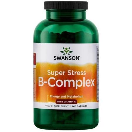 Swanson Super Stress B-Complex + Vitamin C