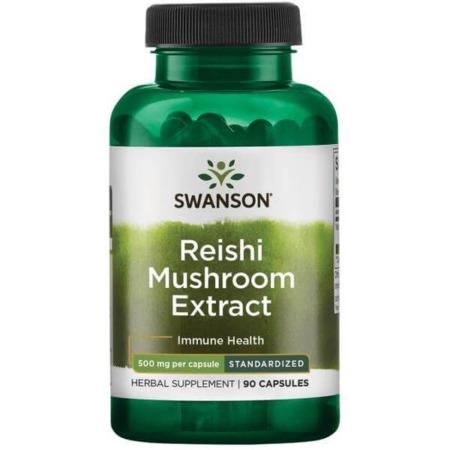 Swanson Superior Herbs Reishi Mushroom Extract 500 mg