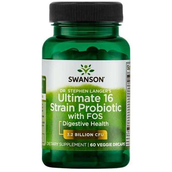 Swanson Ultimate 16 Strain Probiotics