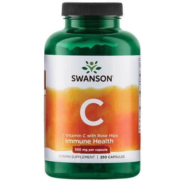 Swanson Vitamin C 500 mg