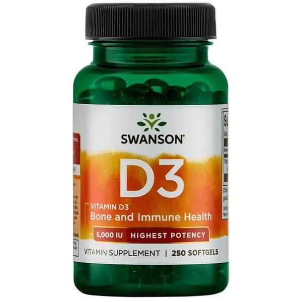 Swanson Vitamin D3 5000 IU