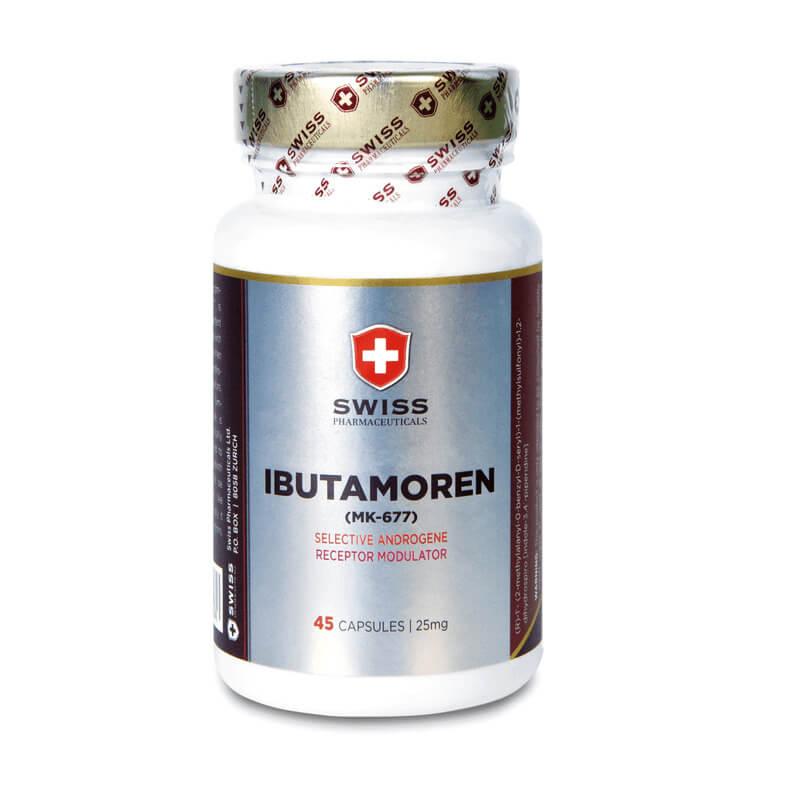 Swiss Pharmaceuticals IBUTAMOREN MK-677