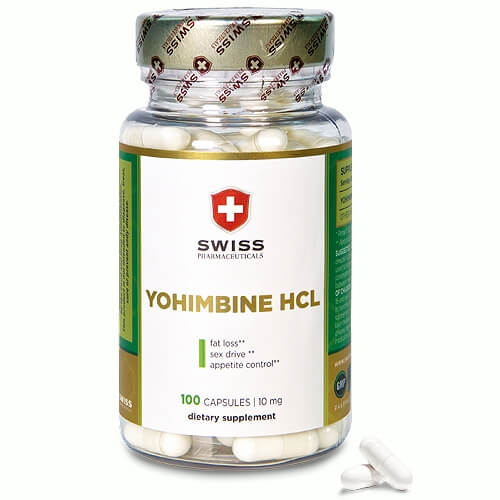 Swiss Pharmaceuticals Yohimbine HCL