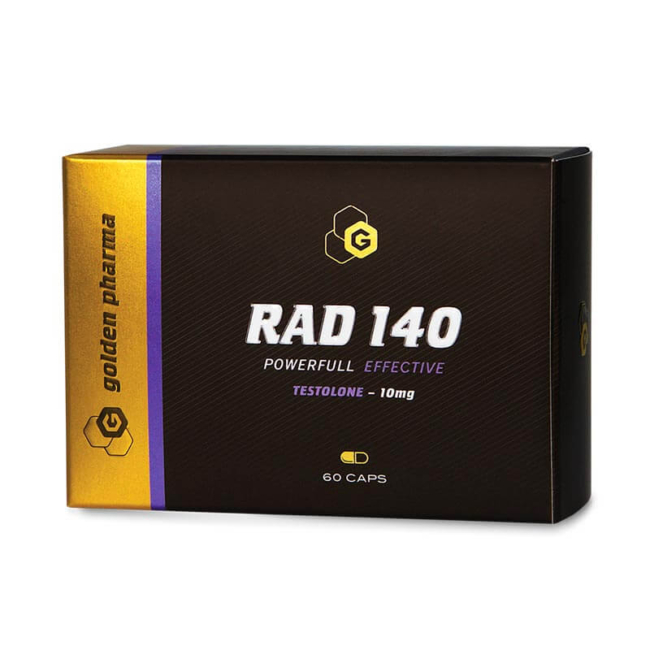 golden pharma RAD 140